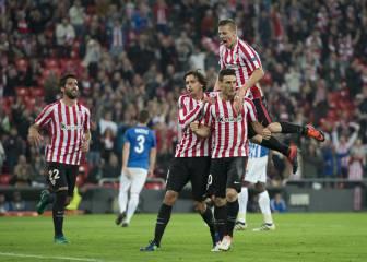 Aduriz bangs in five goals in Athletic's victory over Genk
