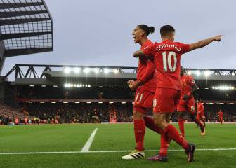 Liverpool thrash Watford at Anfield and take the summit