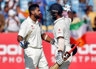 Vijay and Pujara hit centuries as England toil in opening test