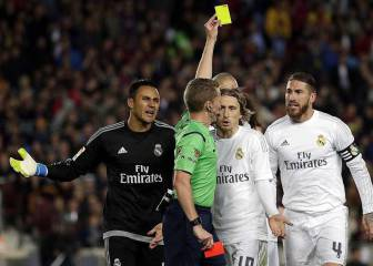 Ramos will miss El Clásico if he is booked against Sporting Gijón