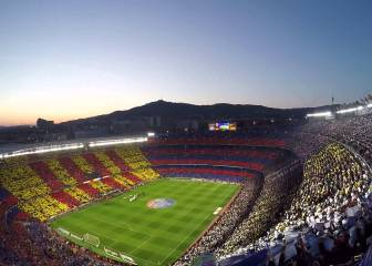 Barça's Camp Nou second in European attendance ranking