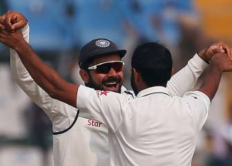 India see off England in Mohali to take 2-0 Test series lead