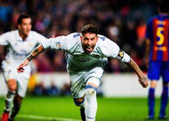 Sergio Ramos rescues a point for Real Madrid in Camp Nou