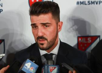 MLS name David Villa as MVP