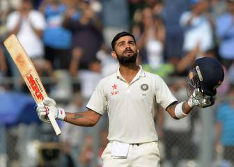 Kohli and Vijay hit tons as India take charge against England