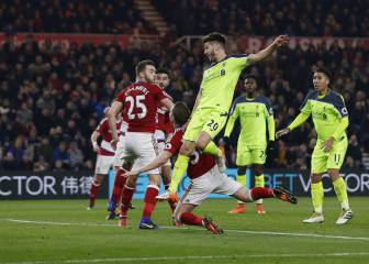 Lallana and Liverpool make light work of Middlesbrough