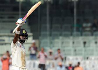 Rahul century leads India's reply against England