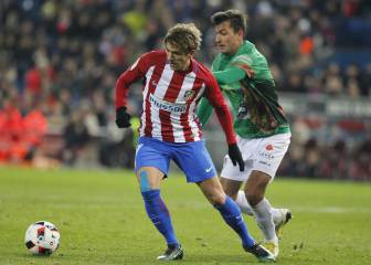 Cerci in first Atlético Madrid appearance for two years