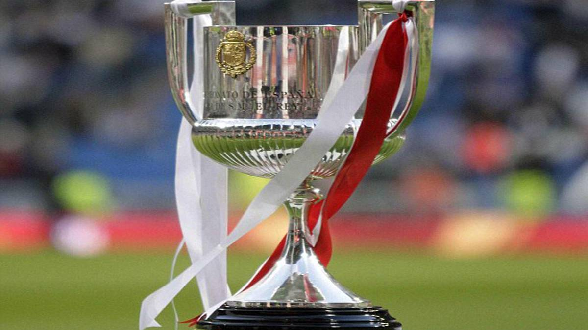 Image result for copa del rey trophy 2018