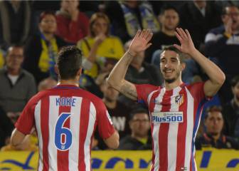 Atleti lay two on Las Palmas to gain first-leg advantage