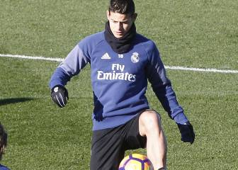 James and Isco to miss Copa return against Sevilla