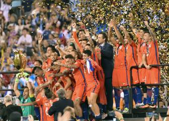 Chile defeat Argentina on penalties to win Copa America