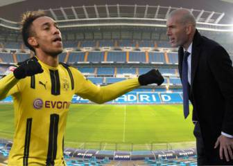 Zidane could stop Aubameyang signing for Real Madrid