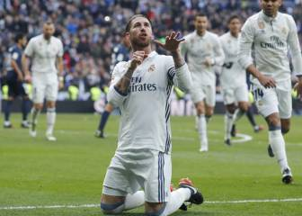 Unconvincing Real Madrid beat Málaga with Ramos double