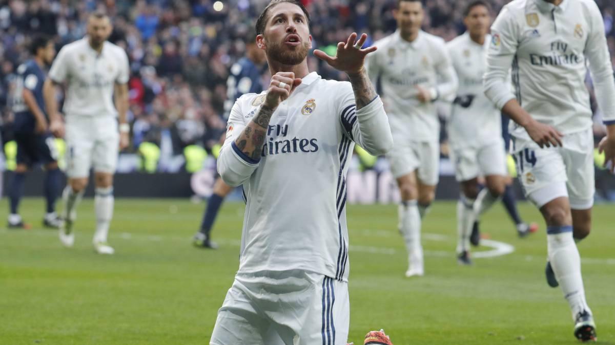 Real Madrid - Málaga live online from the Santiago Bernabéu, today, 21/01