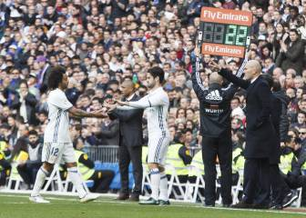 Marcelo joins Madrid's defensive injury list