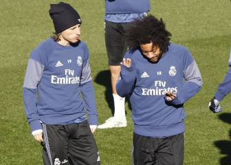 How many Real Madrid games will Marcelo and Modric miss?