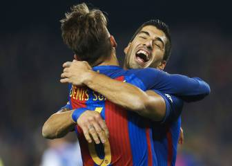 MSN combine in style to feed Denis for Barça opener