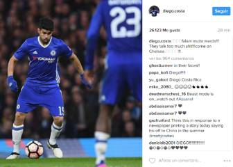 Costa responds to rumours: