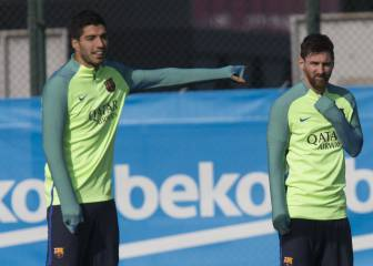 Barcelona - Athletic teams: Messi, Neymar start, Suarez on bench
