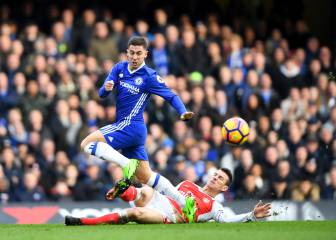 We went easy on battered Arsenal - Hazard