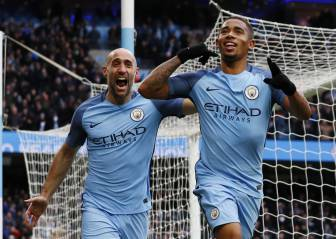 Jesus double lifts City up to third
