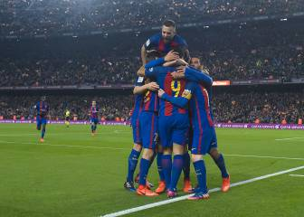 Thrilling second leg sees Barça edge past Atleti into Copa final