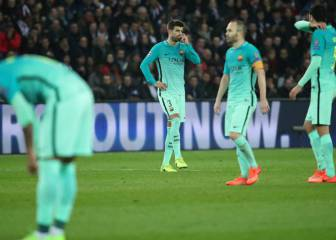PSG equal record European defeat for Barcelona in Paris