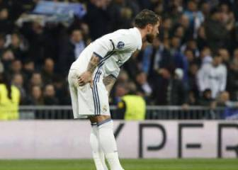 Sergio Ramos an injury worry after taking knock