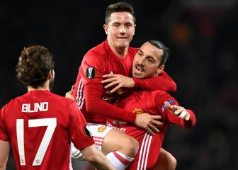 Zlatan hat-trick puts Mourinho's men in charge
