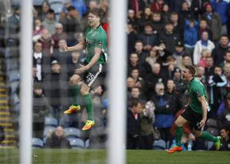 Non-league Lincoln City make FA Cup history at Burnley