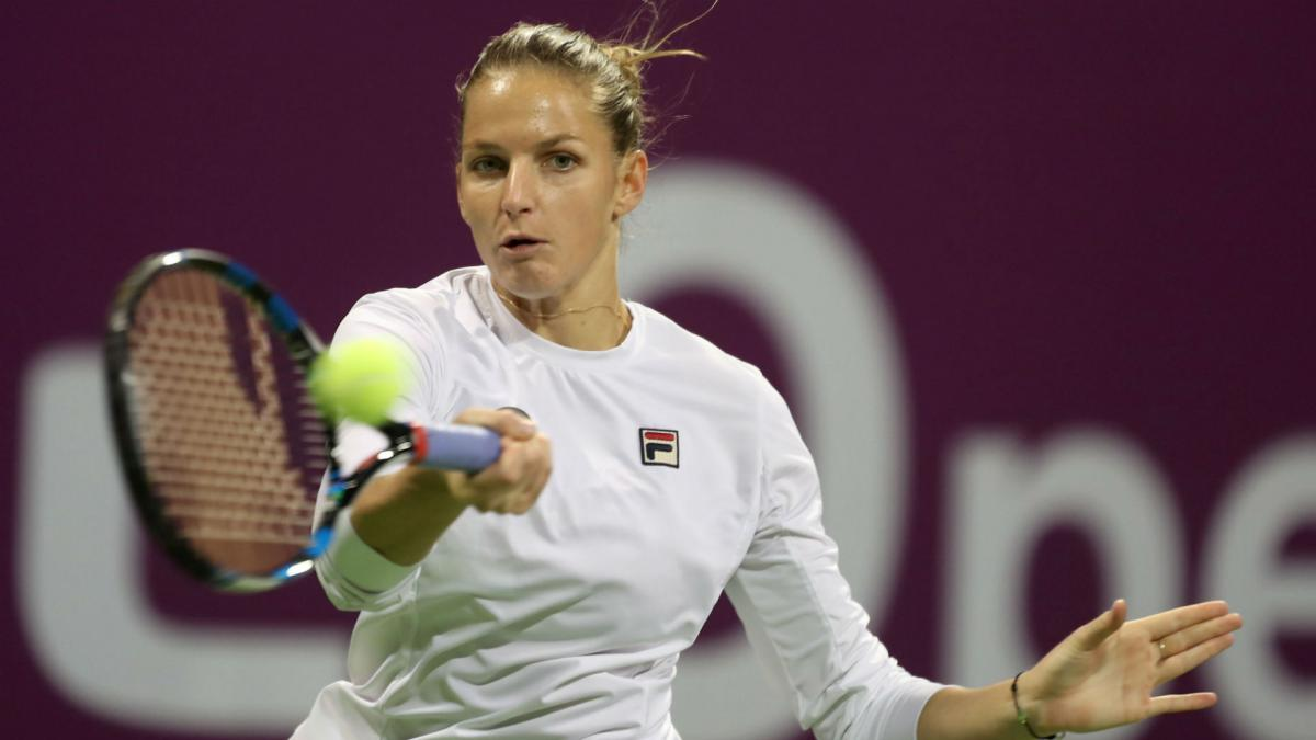 Pliskova downs Wozniacki in Doha to lift title