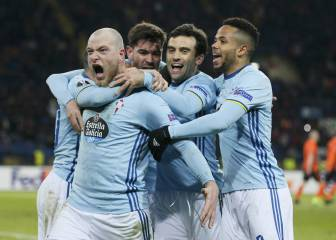 Celta draw Krasnodar in Europa League Round of 16