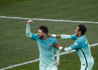 Messi strike downs Atletico as Barça keep pressure on Madrid