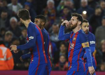 Messi dedicates goal to his nephew after phone celebration