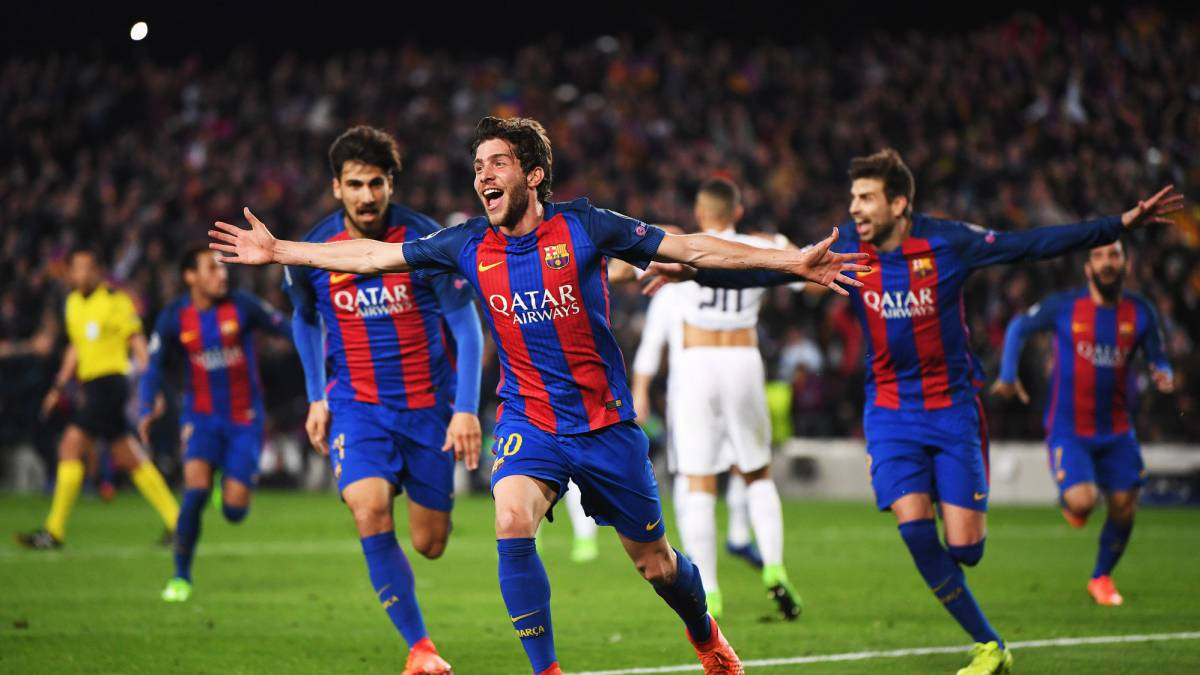 Sergi Roberto describes dream Champions League goal in Barcelona comeback