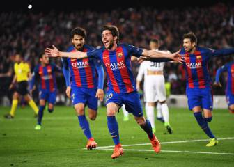 Sergi Roberto the unlikely hero for Barcelona