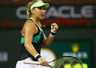 Bencic finds some form as Puig powers through at Indian Wells