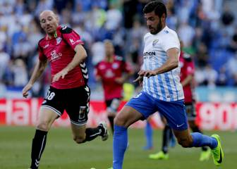 Late Edgar strike spoils Michel's Málaga debut