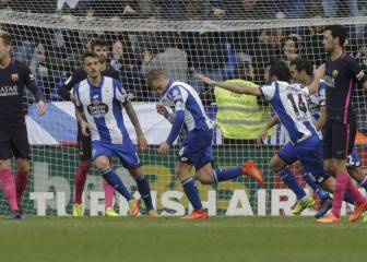 Barça brought back down to earth with loss to Deportivo