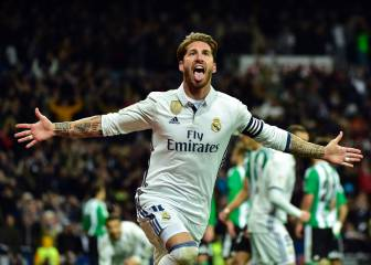 Sergio Ramos grabs the winner for Madrid