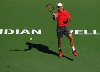 Nishikori advances as big three win through at Paribas Open