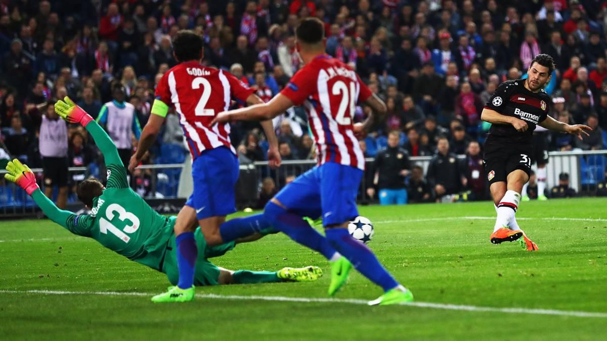 Atletico Madrid vs Bayer Leverkusen Champions League  As it happened ... d0f3380598ba7