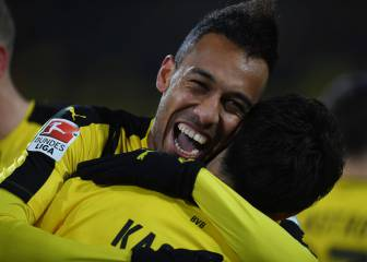 Dithering Dortmund look to Aubameyang against minnows