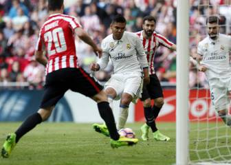 Lion tamers Benzema and Casemiro keep Athletic at bay