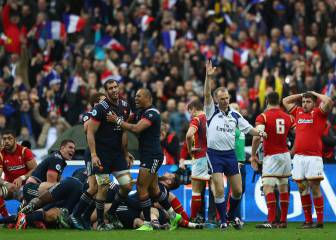 France defeat Wales in bizarre finale