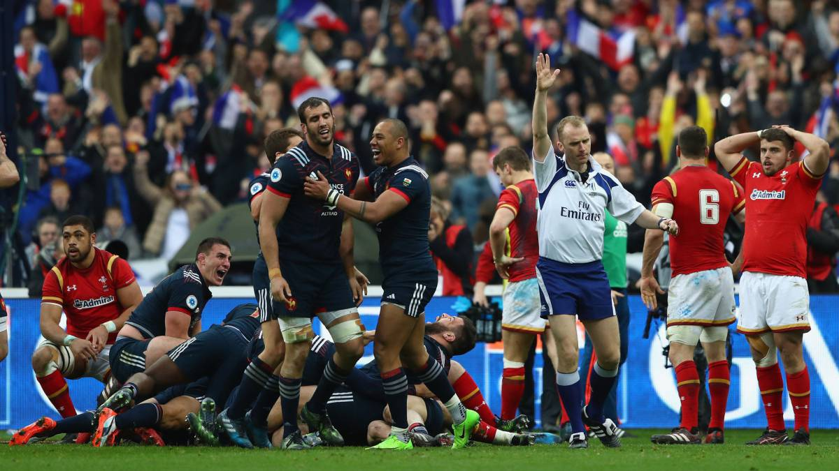 France secured a 20-18 victory over Six Nations-rivals Wales in remarkable circumstances, as Chat scores the winning try twenty minutes after full time