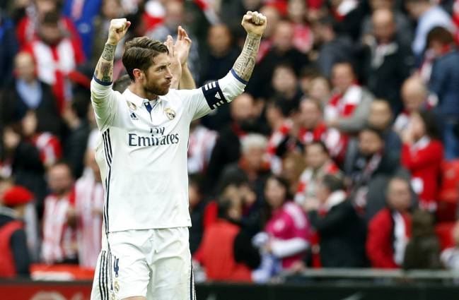Sergio Ramos played in Bilbao despite being hospitalized with gastroenteritis 48 hours earlier.