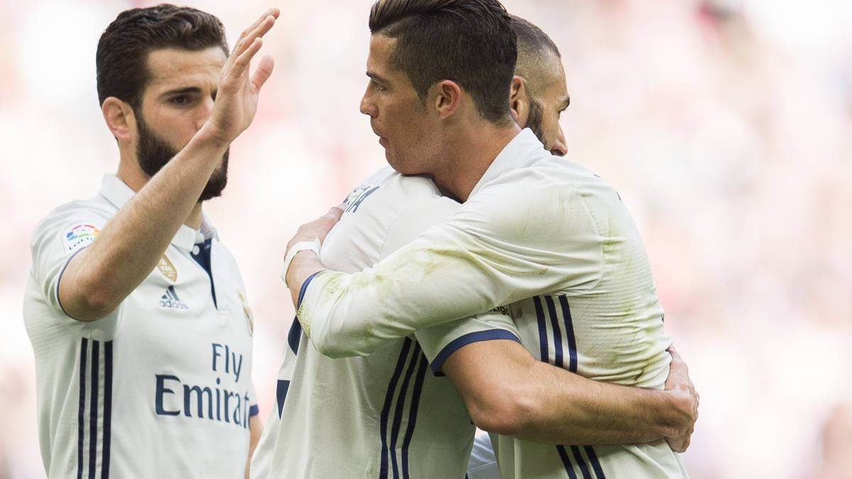 Real Madrid-Athletic: Benzema savours Cristiano connection