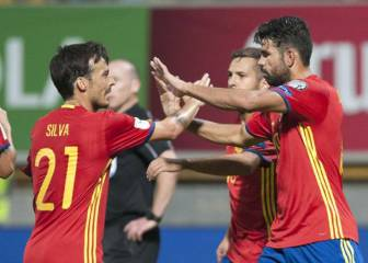 Spain vs Israel team news: Costa, Vitolo and Silva in attack